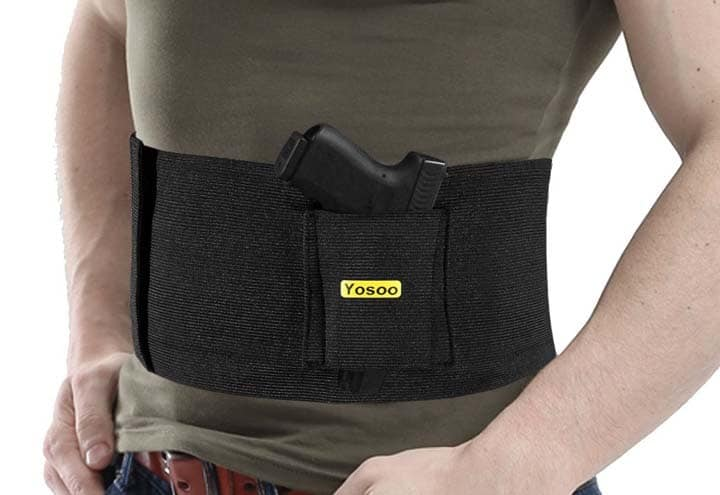 belly band carry method